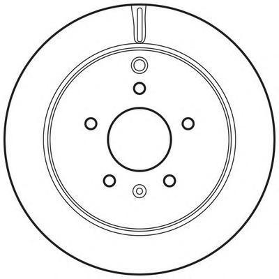562670JC JURID Тормозной диск