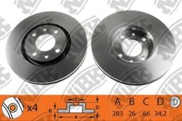 Тормозной диск NIBK RN1151