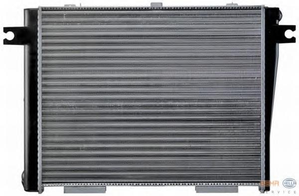 8MK376713151 BEHR-HELLA Радиатор, охлаждение двигателя
