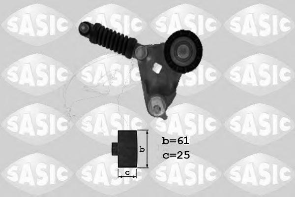 1626110 SASIC Натяжитель ремня, клиновой зубча