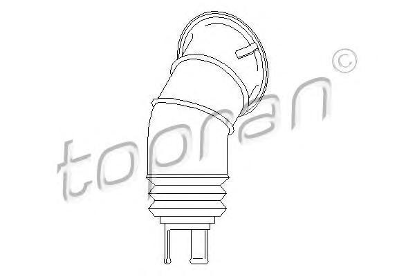 108030 TOPRAN Манжета, колонка рулевого управления