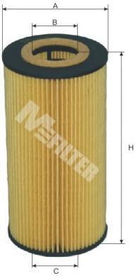 TE623 M-FILTER Масляный фильтр