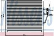 94529 NISSENS Радиатор кондиционера