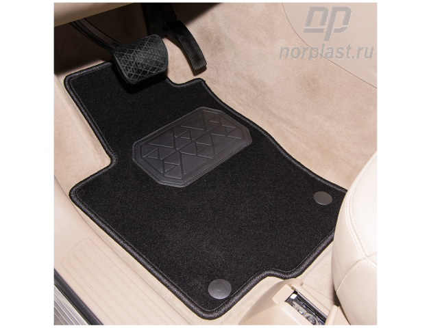 NPA00T95024 NORPLAST Коврик багажника для