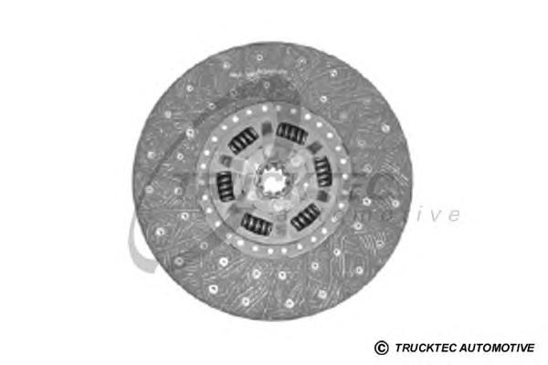 0223118 TRUCKTEC Диск сцепления
