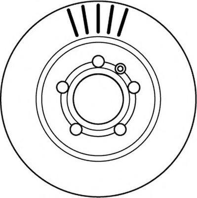 562133JC JURID Тормозной диск