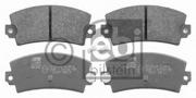 16407 FEBI Колодки тормозные дисковые к-т