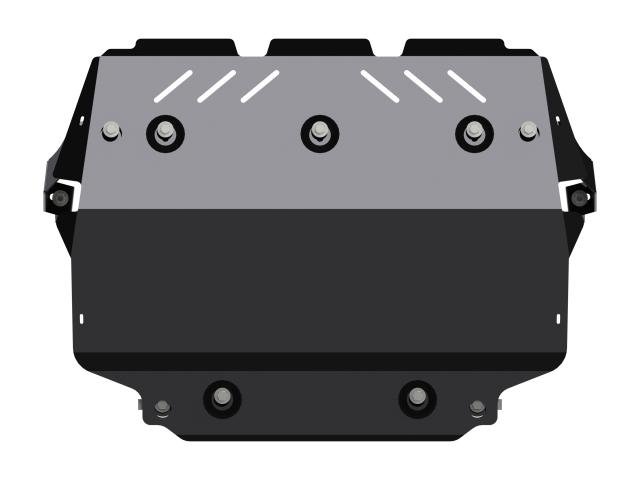 Защита картера и КПП, сталь 2 мм, вес: 14,59, время  установки: 15-30 мин. SHERIFF 261988