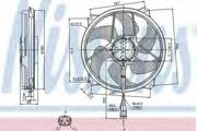 85561 NISSENS Вентилятор, охлаждение двигателя