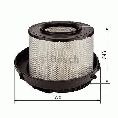 F026400088 BOSCH Воздушный фильтр