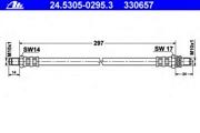 24530502953 ATE Тормозной шланг