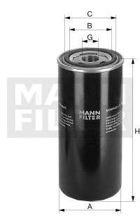 W11507 MANN Масляный фильтр