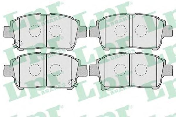 05P1003 LPR/AP Комплект тормозных колодок, дисковый тормоз