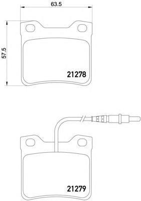 8DB355007491 BEHR-HELLA Комп. дисковых торм. колодок