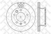 60203334VSX STELLOX Тормозной диск