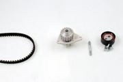 PK08460 HEPU Водяной насос + комплект зубчатого ремня