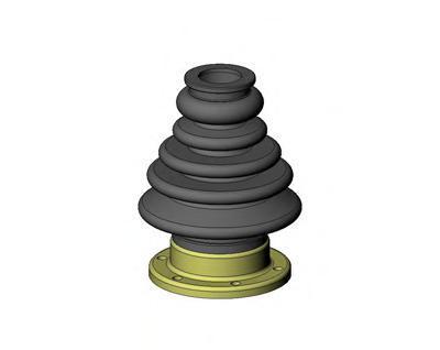 Комплект пылника, приводной вал SEINSA AUTOFREN D8061