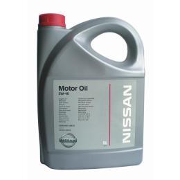 Масло моторное синтетика 5W-40 5 л. NISSAN KE90090042