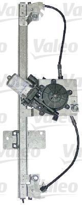 850652 VALEO Стеклоподъёмник, передний левый с электромотором