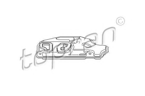 113400 HANS PRIES Гидрофильтр, автоматическая коробка передач