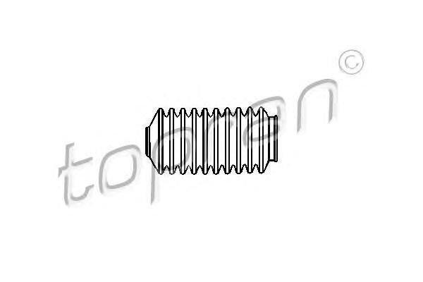 104222 TOPRAN Пыльник, рулевое управление