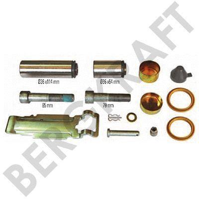 BK1600227AS BERGKRAFT Ремонтный комплект суппорта (Knorr:K013007) For Knorr-Bremse Type Calipers: SK..-Series