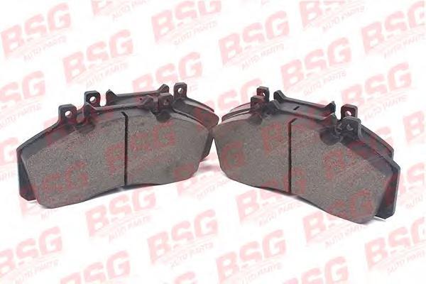 BSG60200005 BSG Комплект тормозных колодок, дисковый тормоз