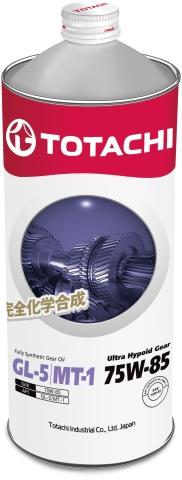 Масло трансмиссионное TOTACHI Ultra  Hypoid Gear 75W-85  синтетика 1 л. API GL-5,MT-1 TOTACHI 4562374691872
