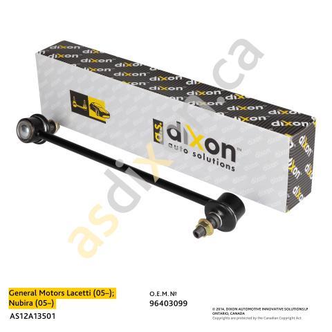 AS12A13501 A.S.DIXON Стойка стабилизатора пер. лев.