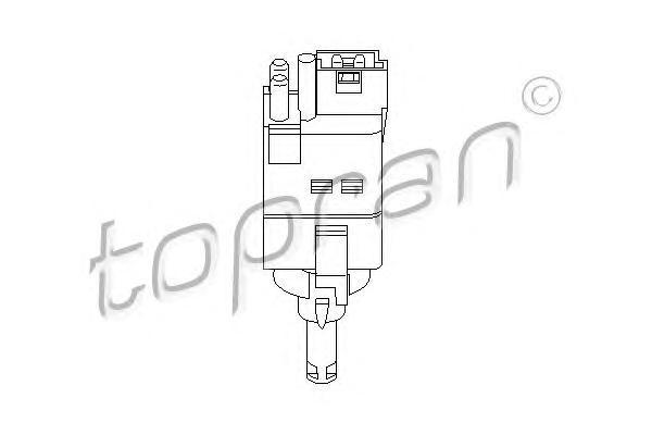 400681 HANS PRIES Выключатель фонаря сигнала торможения