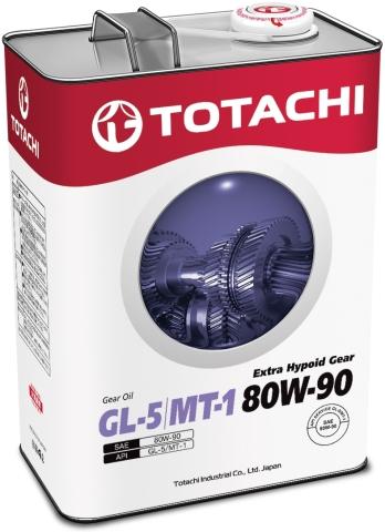 Масло трансмиссионное TOTACHI Extra Hypoid Gear 80W-90  минеральное 4 л. API GL-5,MT-1 TOTACHI 4562374691964