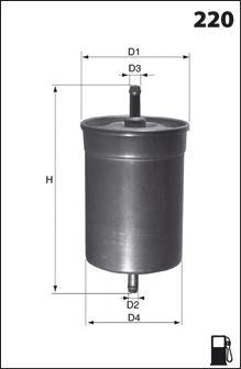 Топливный фильтр MECAFILTER ELE6065