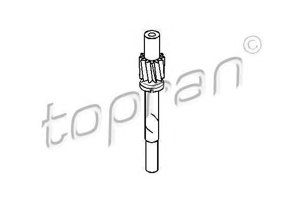 107400 TOPRAN Тросик спидометра