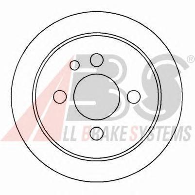 Тормозной диск ABS 15799