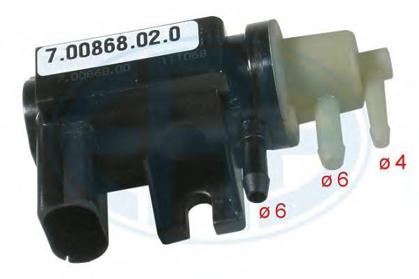 555171 ERA Преобразователь давления ОГ AUDIVW 1.9TDI2.0TDi2.5TDi 03- 555171