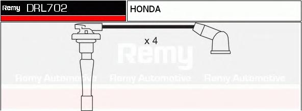 Комплект проводов зажигания DELCO REMY DRL702