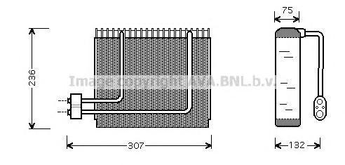 HYV014 AVA Испаритель, кондиционер