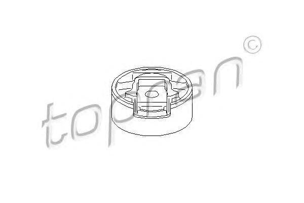110133 HANS PRIES Подвеска, двигатель
