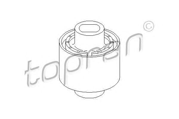 401074 TOPRAN Подвеска, рычаг независимой подвески колеса