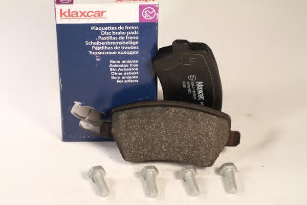 Комплект тормозных колодок, дисковый тормоз KLAXCAR 24996Z