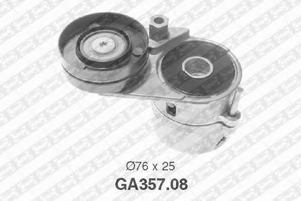 GA35708 NTN-SNR Натяжной ролик, поликлиновой  ремень