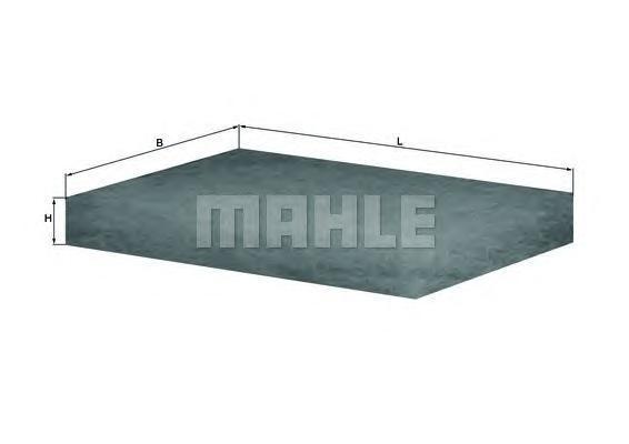 LAP12 MAHLE/KNECHT Фильтр, воздух во внутренном пространстве