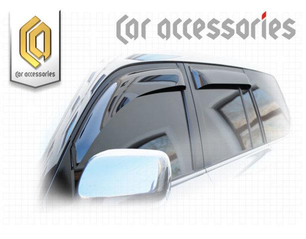 2010030302942 CA PLASTIC Ветровики дверей Lexus LX 570 2008 Classic полупрозрачный Арт 294