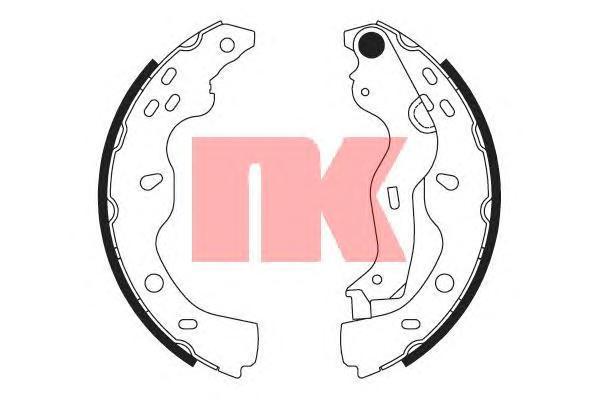 2723759 NK Колодки тормозные барабанные