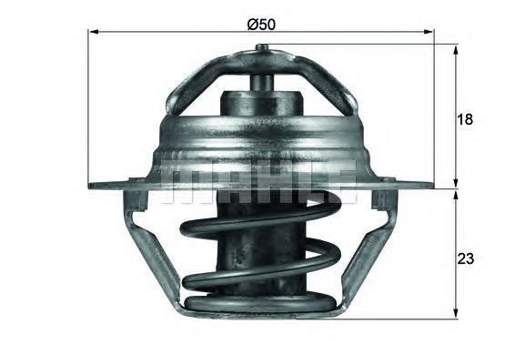 TX10089D KNECHT Термостат, охлаждающая жидкость