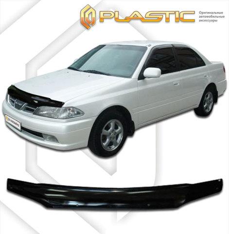 2010010100261 CA PLASTIC Дефлектор капота Toyota Carina  1997-2001 Classic черный Арт 26