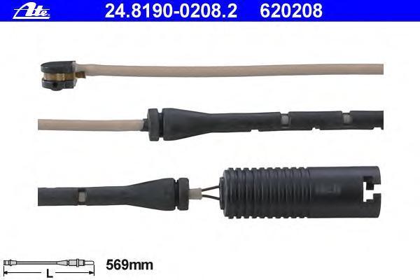 Датчик износа тормозных колодок ATE 24819002082