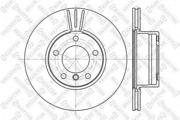 60201536VSX STELLOX Тормозной диск