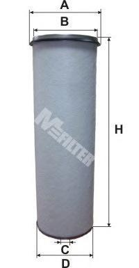 Воздушный фильтр M-FILTER A5671