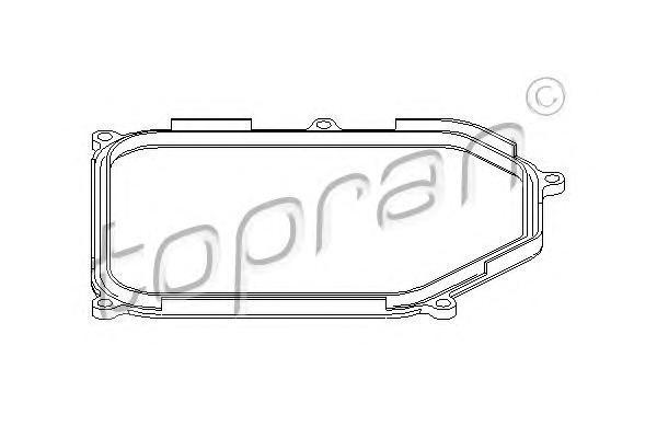 108755 TOPRAN Прокладка, маслянного поддона автоматическ. коробки передач